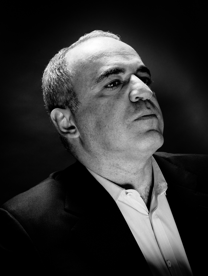 Chess Grandchampion Garry Kasparov