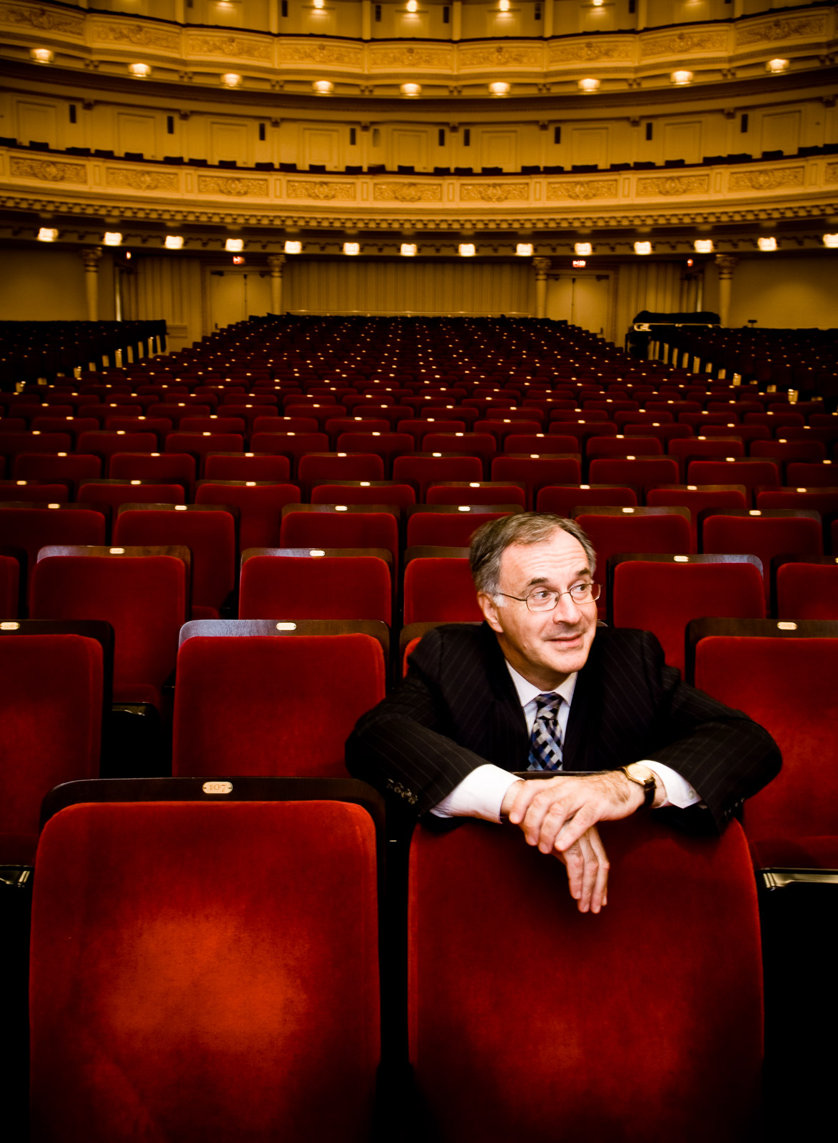 Sir Clive Gillinson / Director of Carnegie Hall