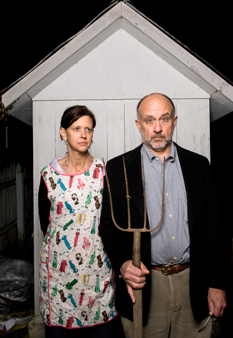 American Gothic Homage