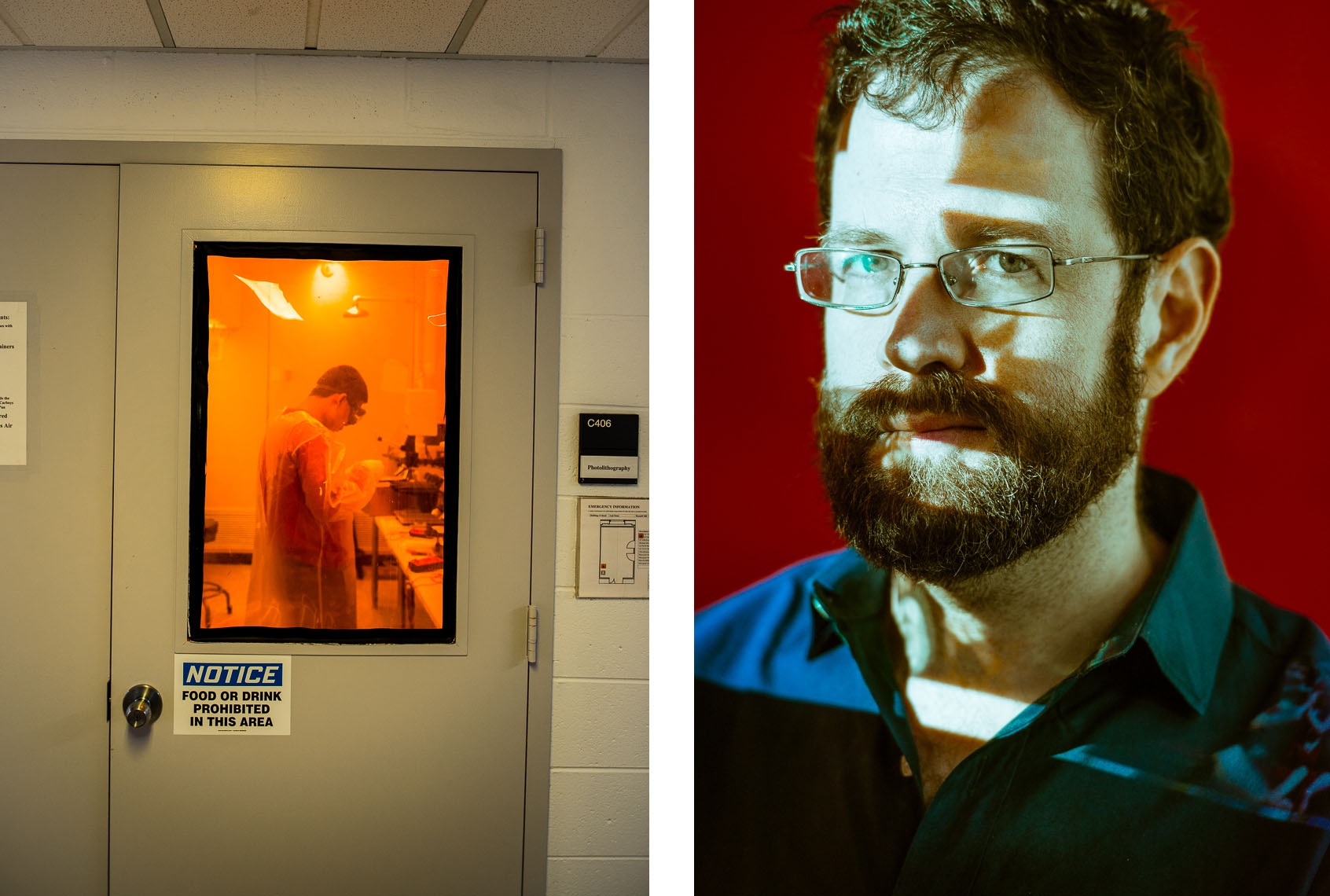 Scientific Photographer NY / NJ  |  Photolithography Lab / Ken Norman