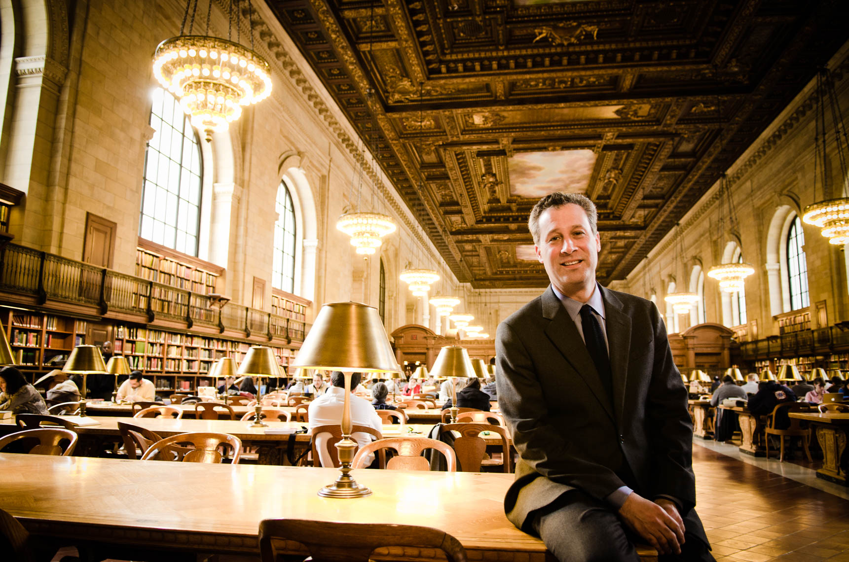 Anthony Marx / CEO of the New York Public Library
