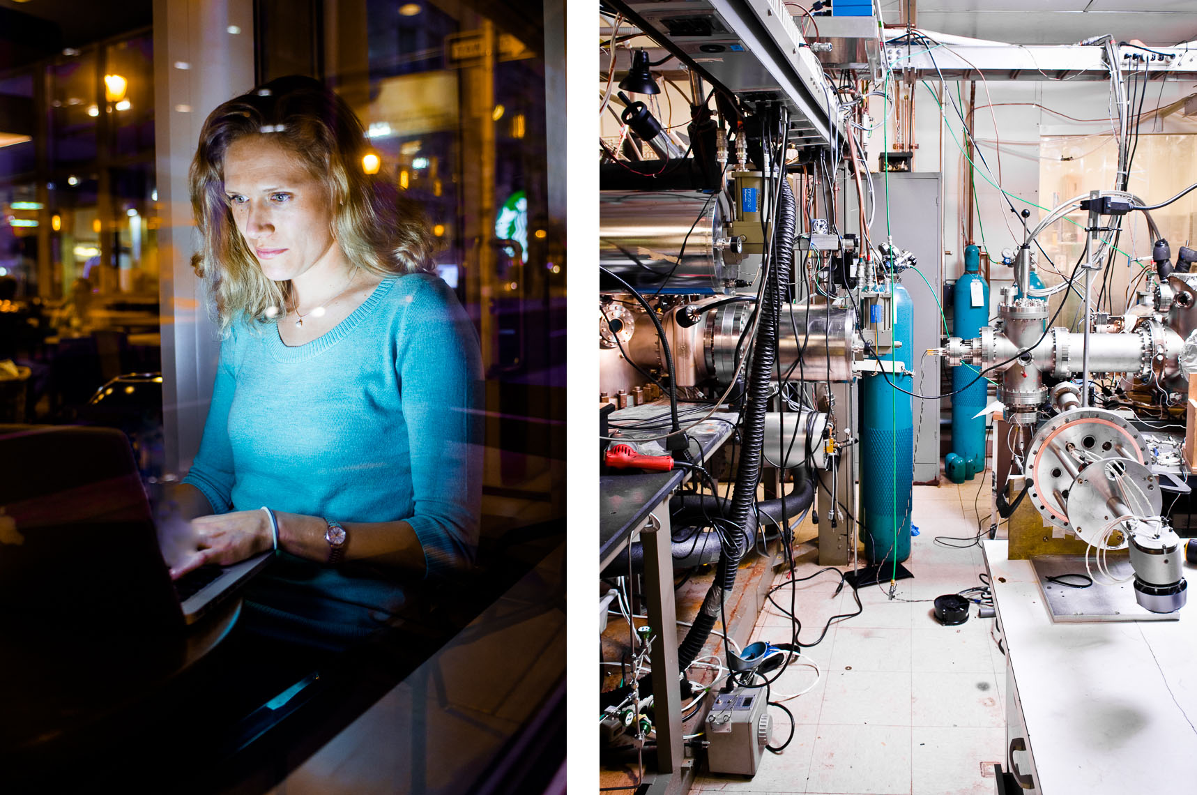 Scientific Photography | Paige Cramer | MBE Machine